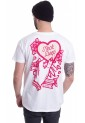 Neck Deep - Candy Heart White - T-Shirt